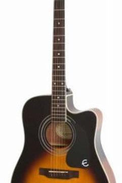 Epiphone Pro-1 Ultra Elektro Akustik Gitar Vintage