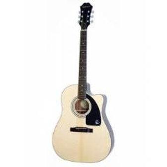 Epiphone AJ-100CE Nat Ch Hdwe Akustik Gitar