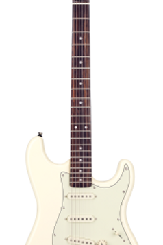 SX SST62 VWH Elektro Gitar SST62+/VWH