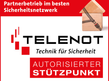 Wir sind Autorisierter TELENOT-Stützpunkt