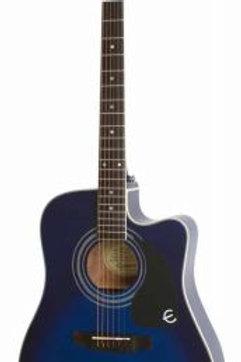 Epiphone Pro-1 Ultra Elektro Akustik Gitar Trans B