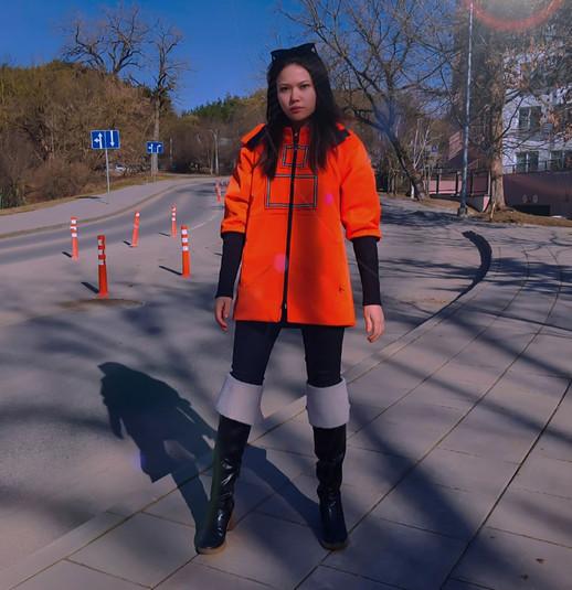 Rite Of Passage: Safety Orange