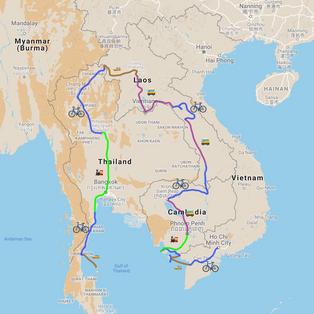 RÉTROSPECTIVE, Asie du Sud-Est à vélo