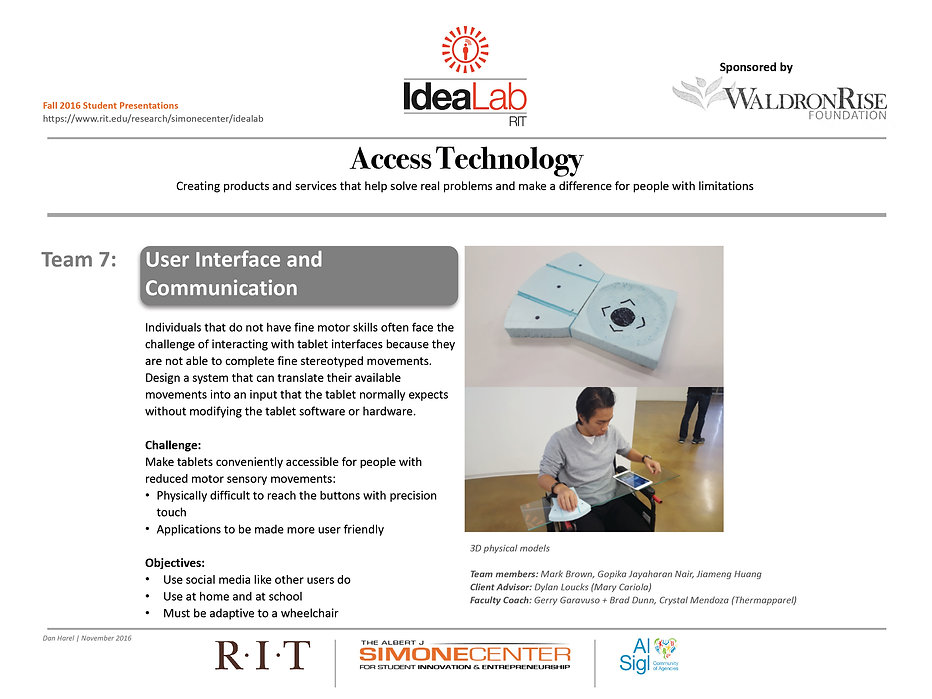 accessabilityatrit | T7-User Interface and Communication