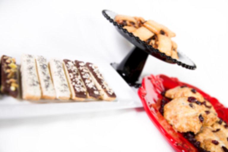 biscotti, rugela, scones