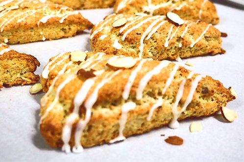 Almond Scones 3ct