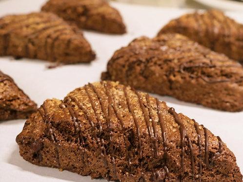 Triple Chocolate Scones  3ct