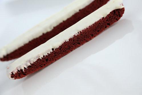 Red Velvet Biscotti 3pk