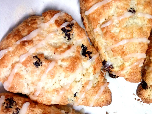 Gluten Free Vegan Orange Cranberry Scone