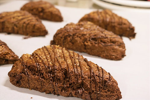 Gluten Free Vegan Triple Chocolate Scones