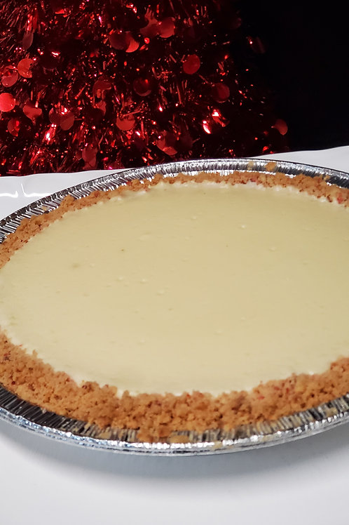 Peppermint Crusted Cheesecake