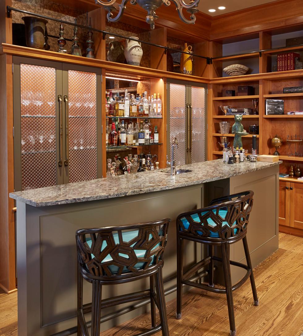 Bar Design Bellevue Home Renovation