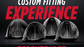 Titleist Fitting Day at McCann is Rescheduled to Wed. Sept. 29th