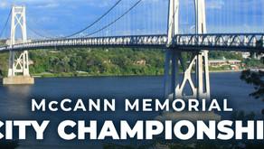 McCann Memorial City Championship Saturday, Oct. 2nd!
