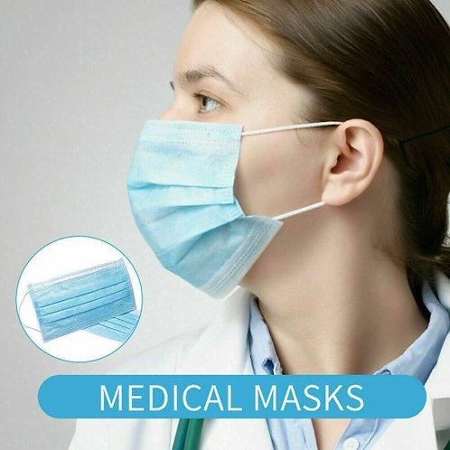 Disposable Surgical Face Mask  – Pack of 50