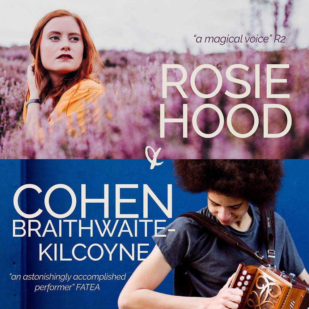 Poster image of Rosie Hood and Cohen Braithwaite-Kilcoyne