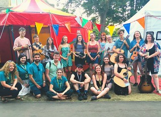 The Hub @ Cambridge Folk Festival 2018