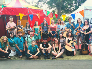 The Hub @ Cambridge Folk Festival 2018