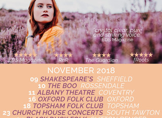 Duo tour with Lucy Huzzard