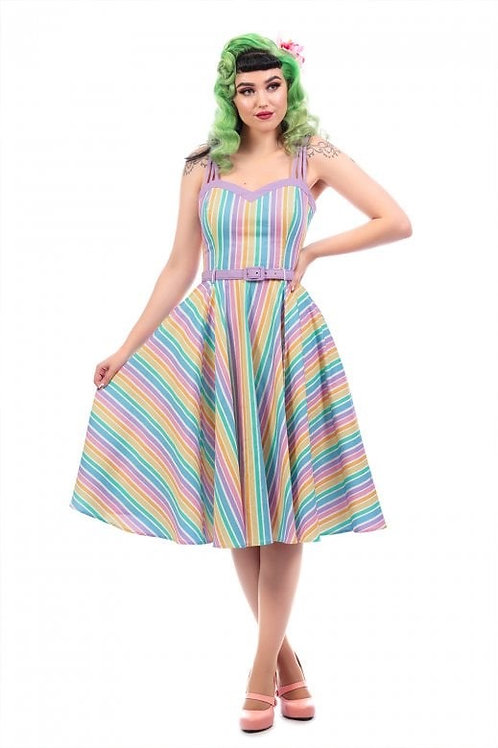Rhianna Rainbow Swing Dress