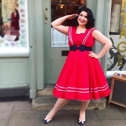 Norelle Nautical Swing dress