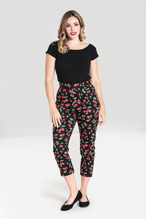 Cherry On top Cigarette Pants