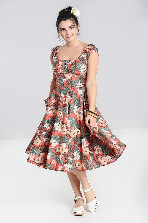 Ukulele Swing Dress