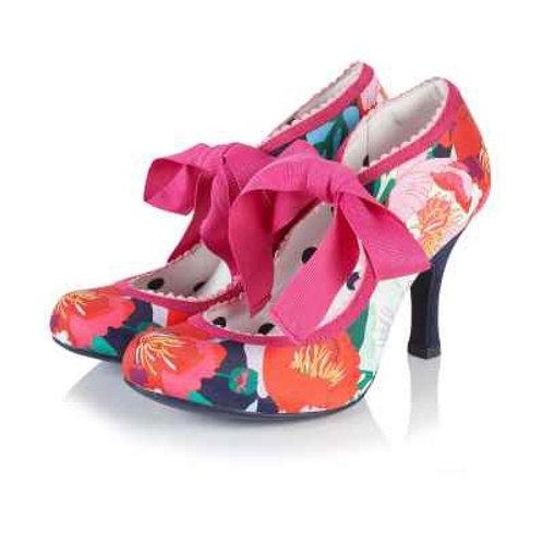 Pink Betty Hart Rose Shoe