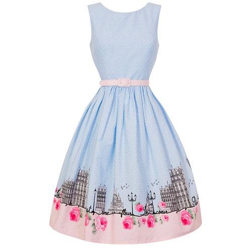 Walk in Paris Swing Dress