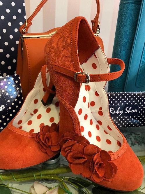 Riley Orange Shoe