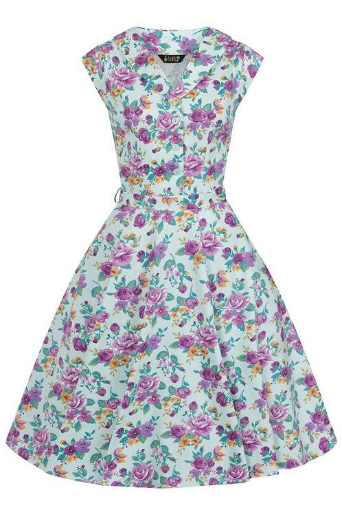 DuckEgg tea Party Swing Dress