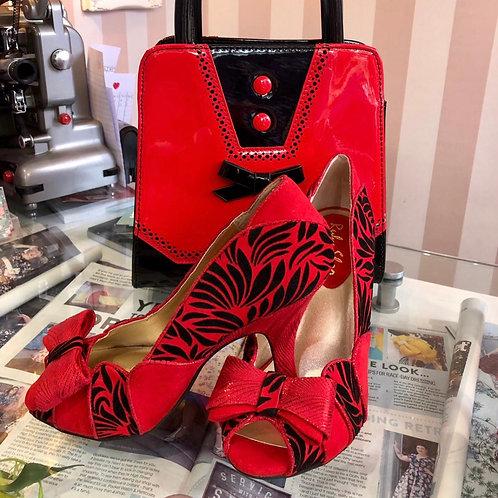Vivian Scarlet Shoe