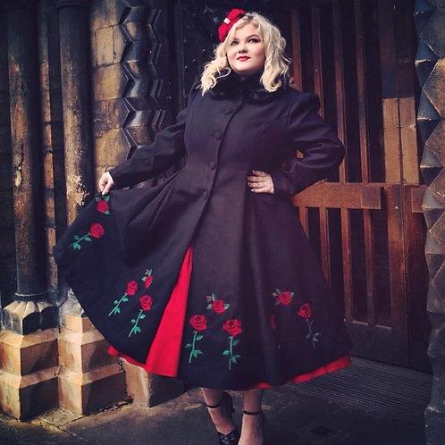 La Rosa Bella Swing Coat
