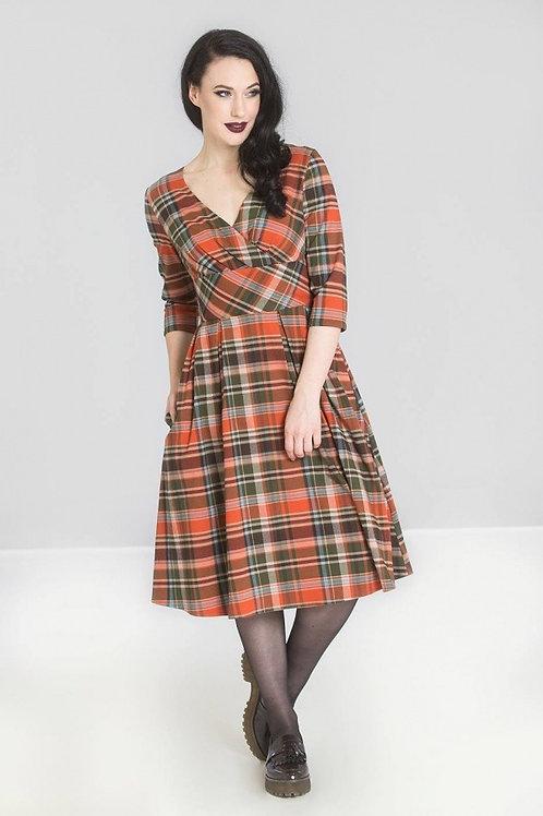 Winter Spice Swing Dress
