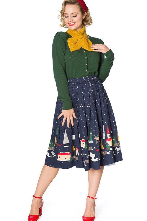 Christmas Town Pleated skirt!