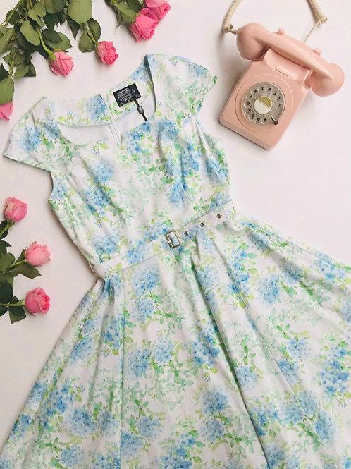Tiffiny Blue Swing Dress