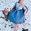 Thumbnail: Baby Blue Bunny oh Baby cardigan!