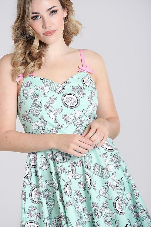 Bree Birdcage Dress mint
