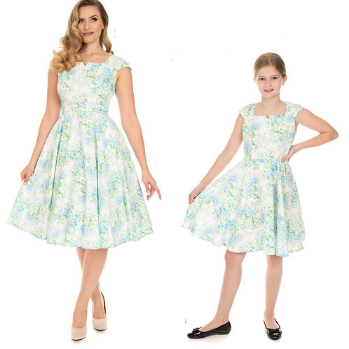 Kids Tiffiny Blue Swing Dress