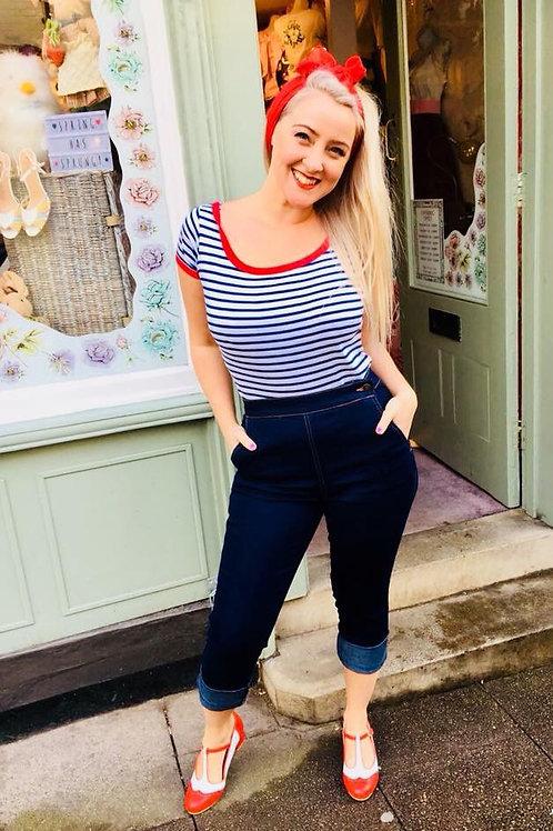 Minnie the Moocher Denim Capri pants