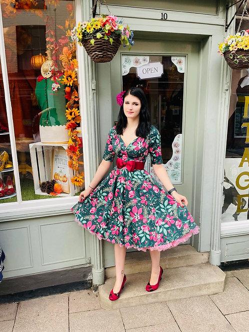 Frances Floral Swing Dress