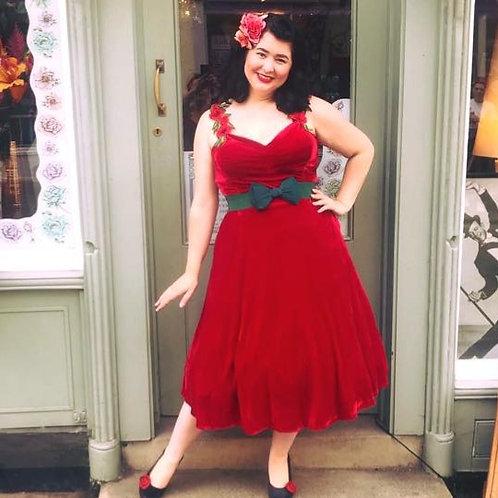 Bella Rose Swing Dress