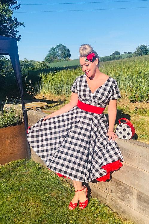 Dorothy in Kansas Swing Dress