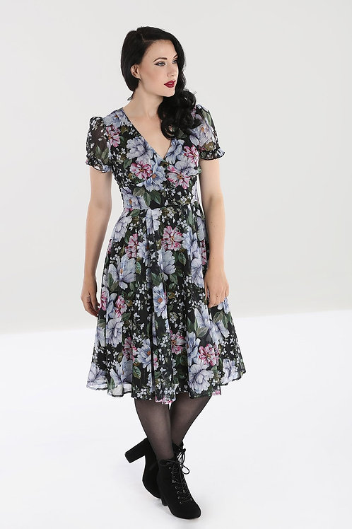 Eden chiffon Swing dress