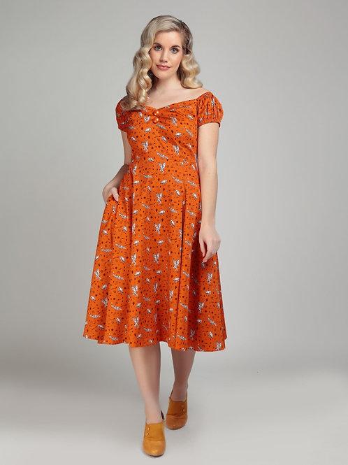 What a Hoot swing Dress!