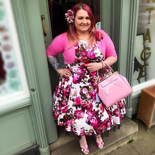 Audrey Bloom Swing Dress