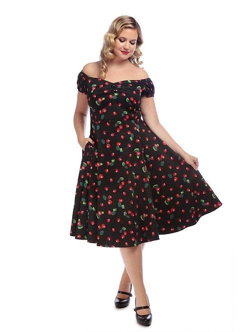 Cherry Betty Swing Dress