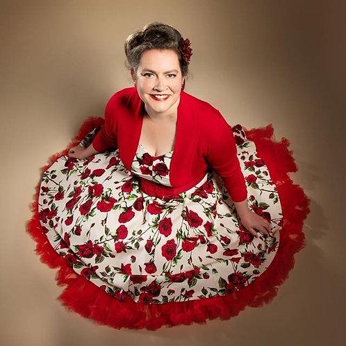 Ivory Delilah Swing Dress