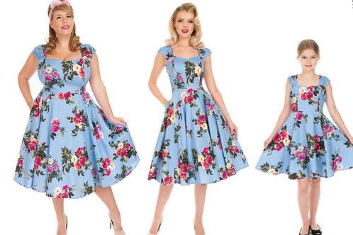 Briony Blush Swing Dress