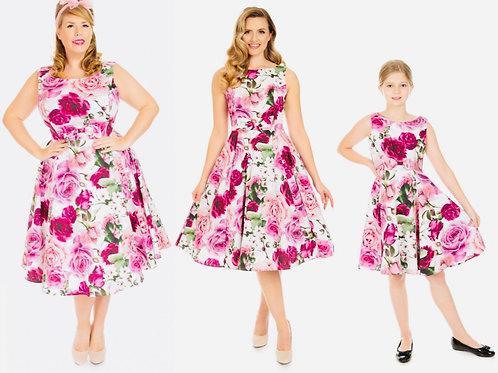 Kids Aurora Blush Swing Dress